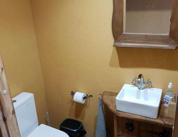 ülemine tualett